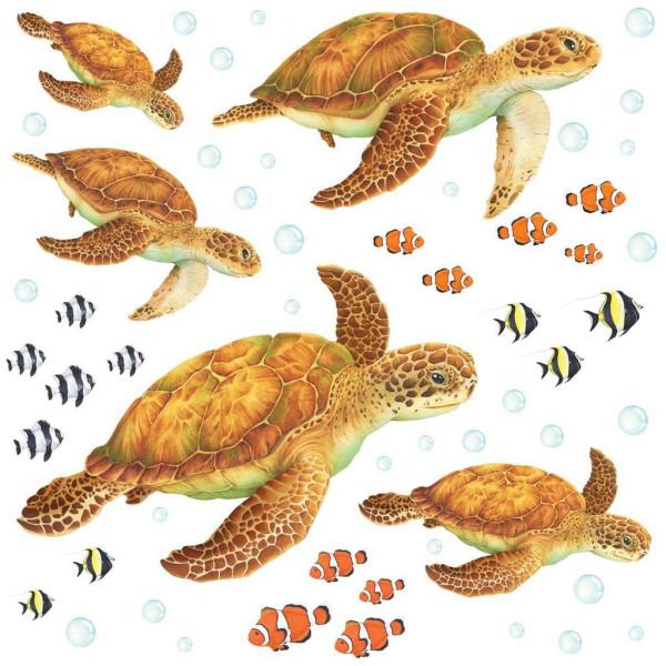 Wandsticker Seeschildkröten