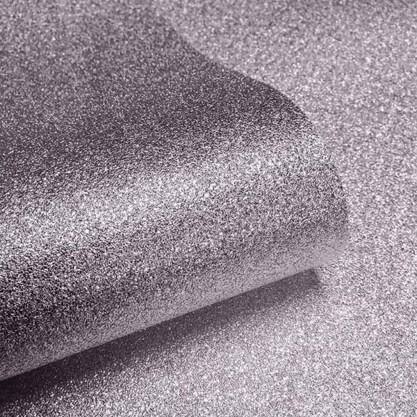 Tapetenrolle nerzfarben Glitter Effekt