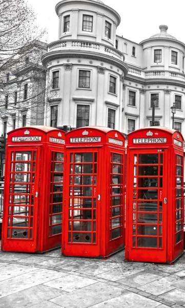 Vlies Fototapete London Calling 150x250