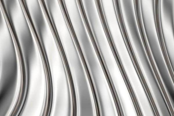 Vliestapete Metall Streifen 375x250