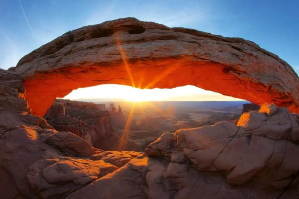 Vliestapete Felsbogen Utah 375x250