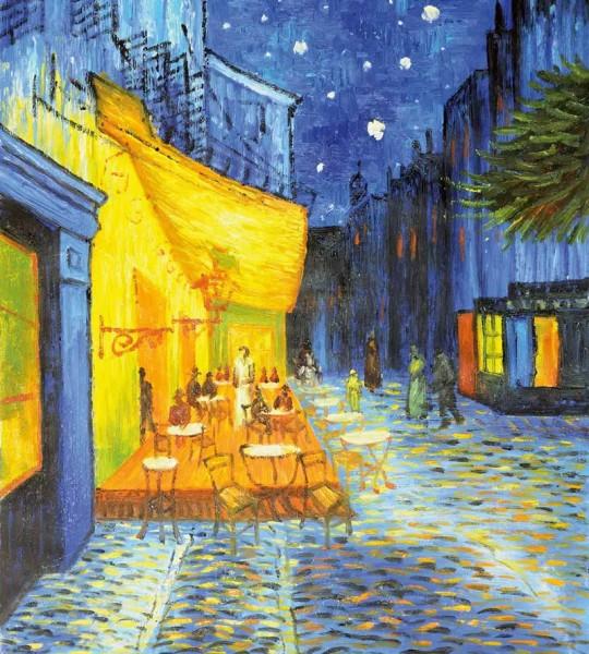 Vliestapete Cafeterasse Vincent van Gogh 225x250