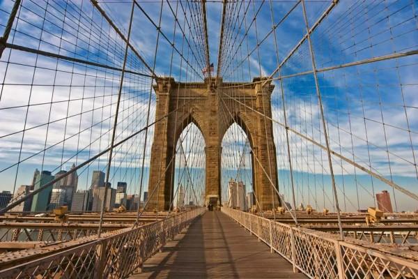 Vliestapete Brooklyn Bridge 375x250