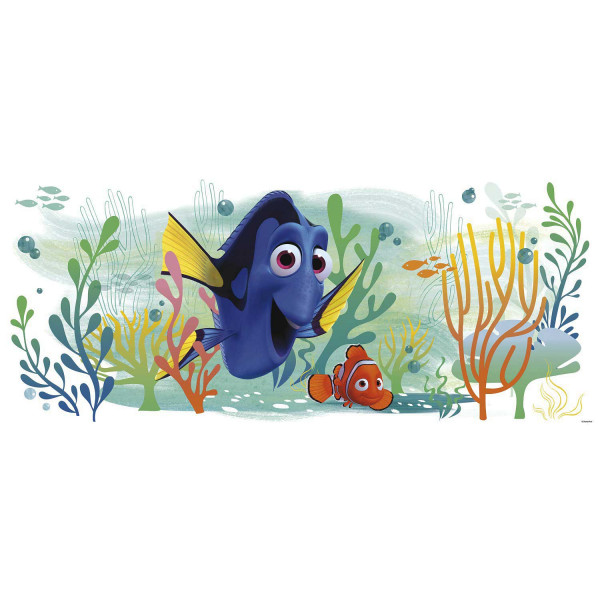 Wandsticker Finding Dory XXL Bad