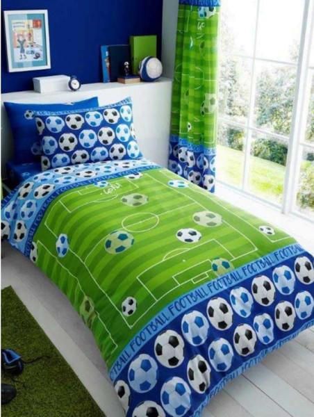Bettwasche Fussballfeld