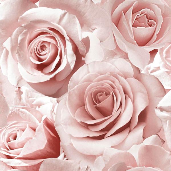 Tapete Madison Rose Glitter himbeere pink