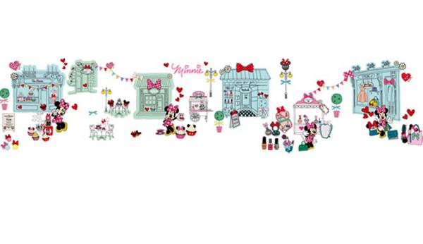 Wandsticker Minnie Mouse Erzähl eine Geschichte