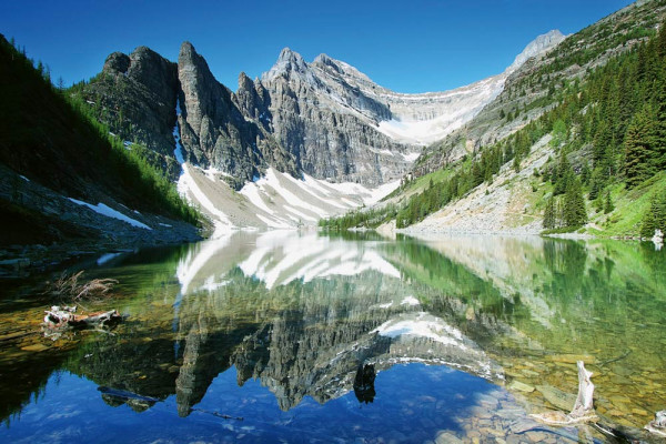 Vliestapete Lake Agnes Kanada 375x250