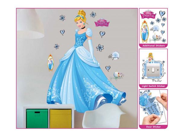 Walltastic Wandsticker Disney Princess Cinderella XXL Verpackung