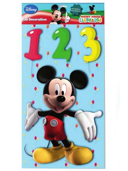 Wandsticker XL 3D Disney Mickey Mouse