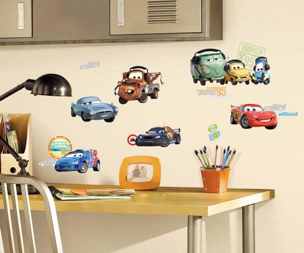 Wandsticker Disney Cars Autos Fahrzeuge
