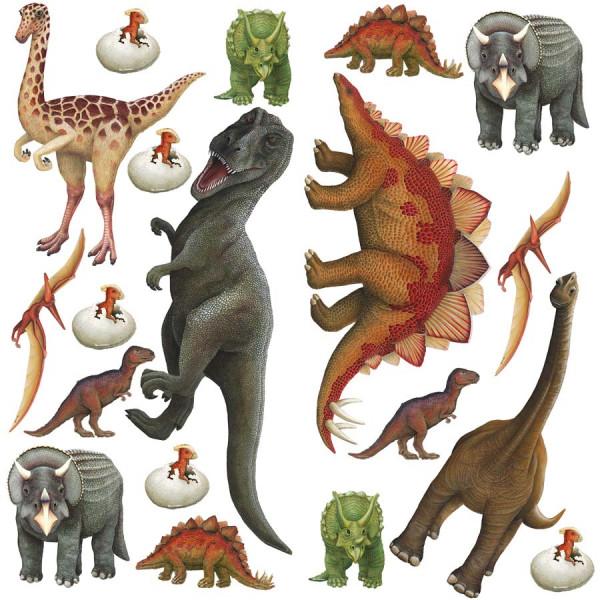 Wandsticker Dinosaurier Komplettset