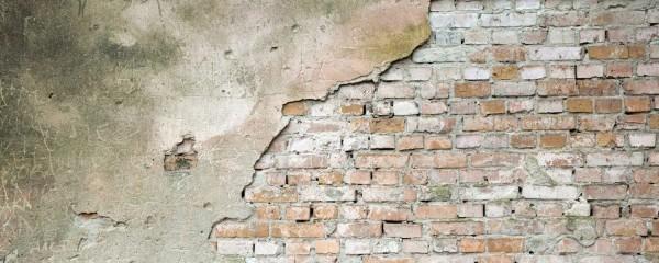 Panorama Vliestapete abgeblätterte Wand 375x150