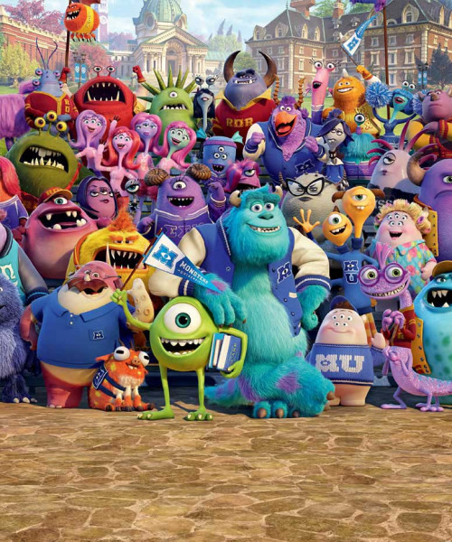 Fototapete Disney Monster University
