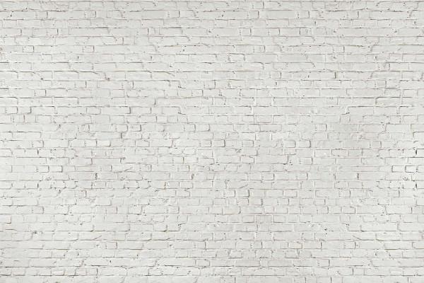 Fototapete Wandbild weiße Steinwand