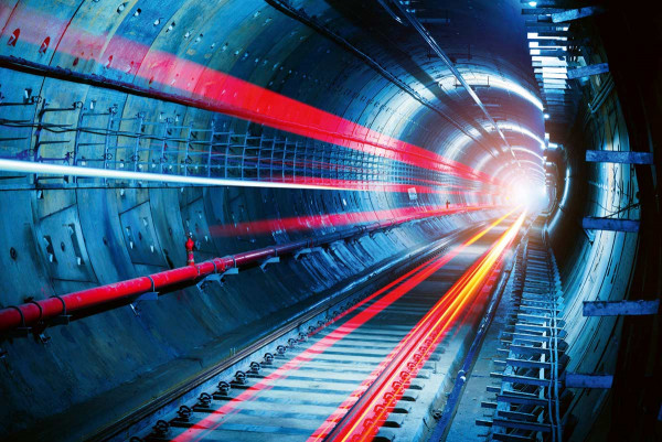 Vliestapete Tunnel 375x250