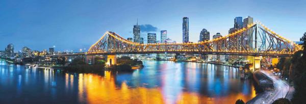 Vliestapete Fototapete Brisbane Australien Panorama