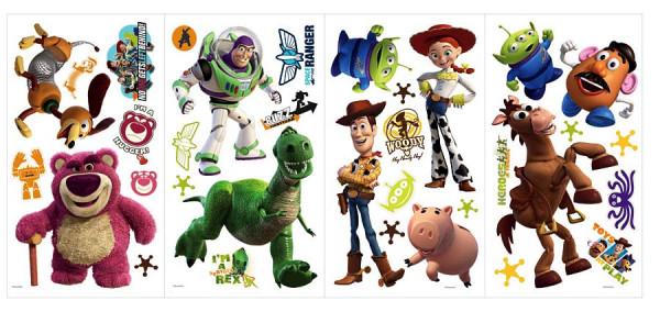 Wandsticker Toy Story leuchten im Dunkeln