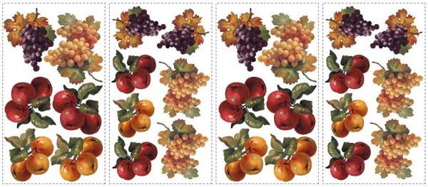 Wandsticker Erntedankfest Äpfel