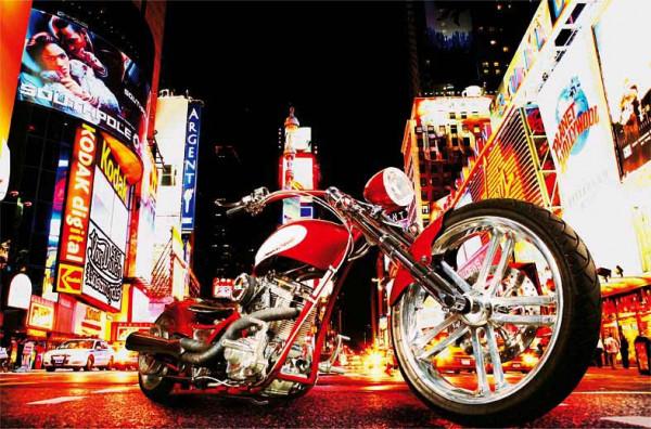 Wandbild Poster Midnight Rider