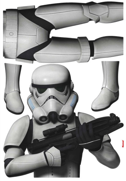 Wandsticker Star Wars Stormtrooper