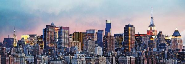 Fototapete Wandbild New York Skyline