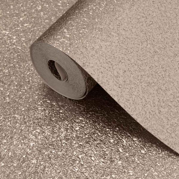 Vinyl Tapetenrolle Metallic Schimmer Textur warmes Gold