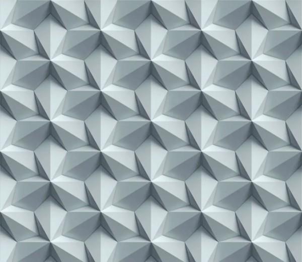 Vliestapete 3D-Optik Rosetta grau