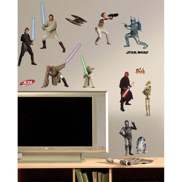 Wandsticker Star Wars Episode 1-3 Kinderzimmer