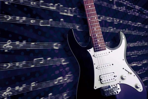 Vliestapete Rockgitarre 375x250