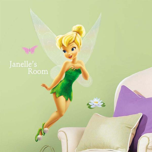 Wandsticker Disney Fairies Tinkerbell Kinderzimmer