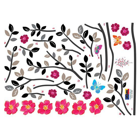 Wandsticker Baumblüte Frühlingserwachen