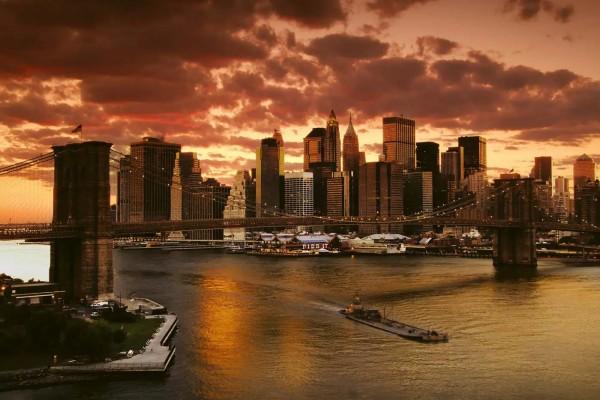 Vliestapete New York 375x250