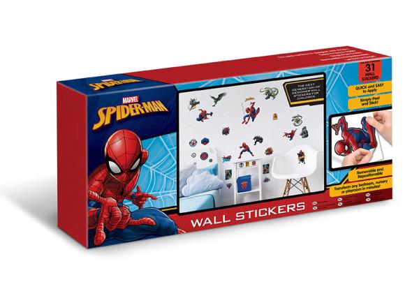 Walltastic Wandsticker Marvel Spiderman Geschenkkoffer