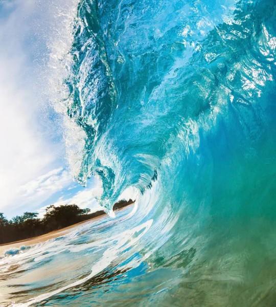 Vliestapete Meereswelle 225x250