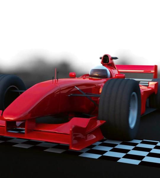 Vliestapete Formel 1 Bolide 225x250