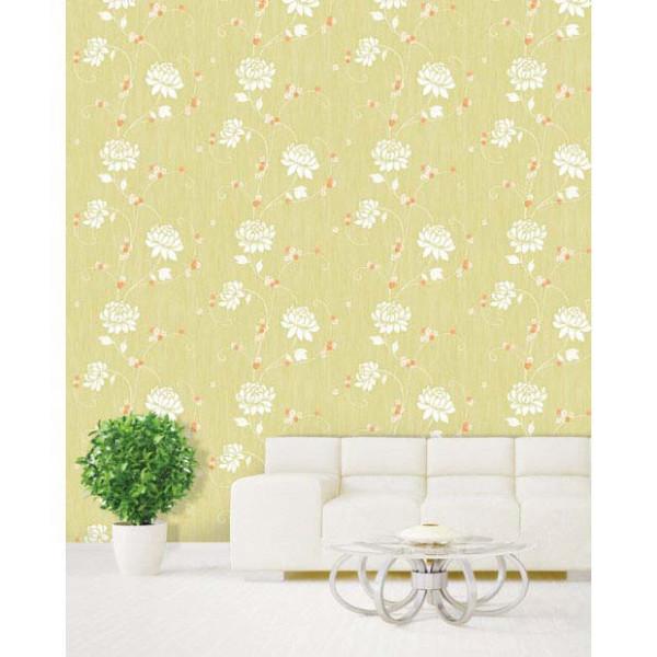 Selbstklebende Tapete Chrysantheme Embossing Wohnzimmer
