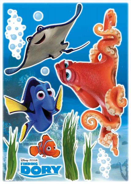 Wandsticker Finding Dory and Friends
