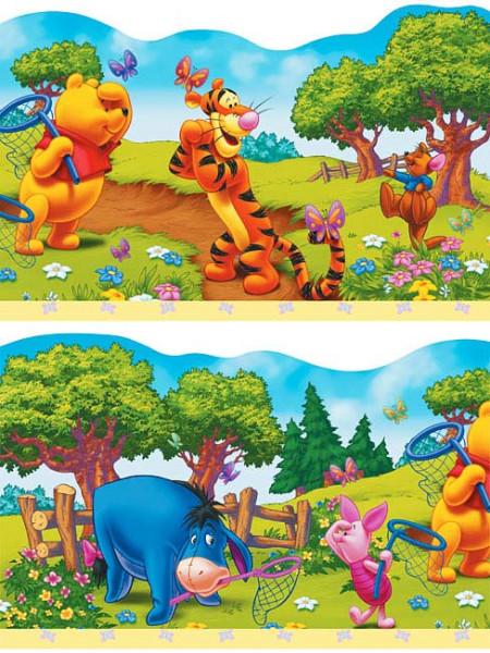 Kinderzimmer Bordüre Winnie Pooh | tapetenwelt