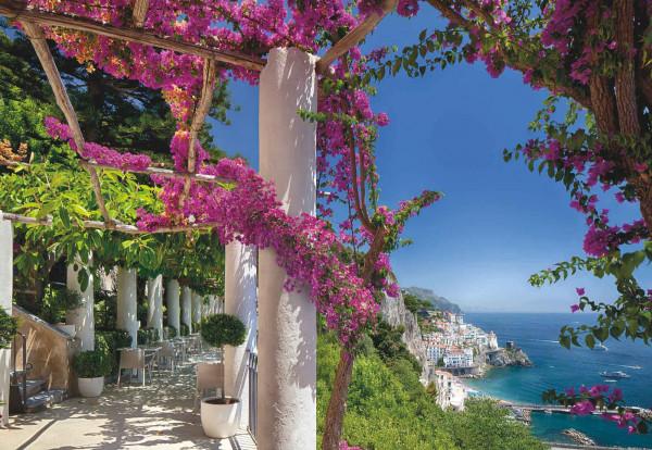 Fototapete Steilküste Mittelmeer Kampanien