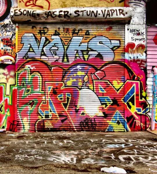 Vliestapete Streetart Graffiti 225x250