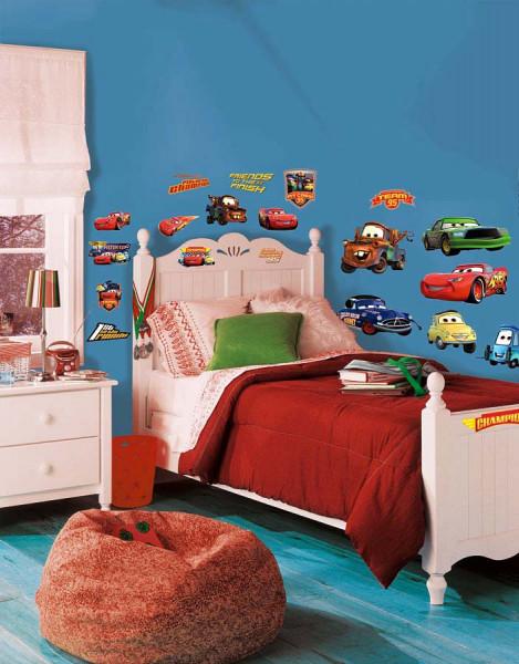 Wandsticker Disney Cars Champions Kinderzimmer